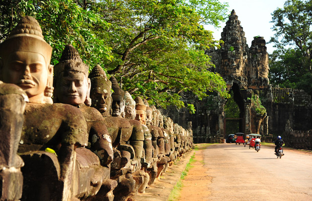 Angkor Thom Capital City